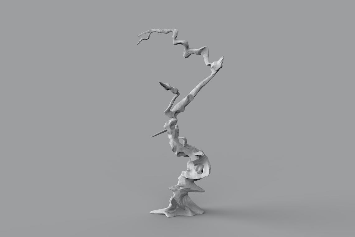 05 fulgurite Tesla Coil scalptur Ahmed mater 87