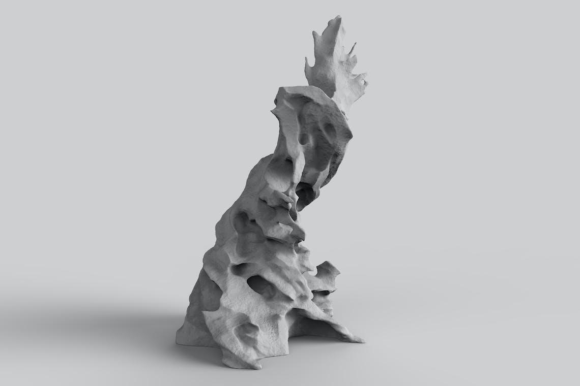 06 fulgurite Tesla Coil scalpture Ahmed mater 93