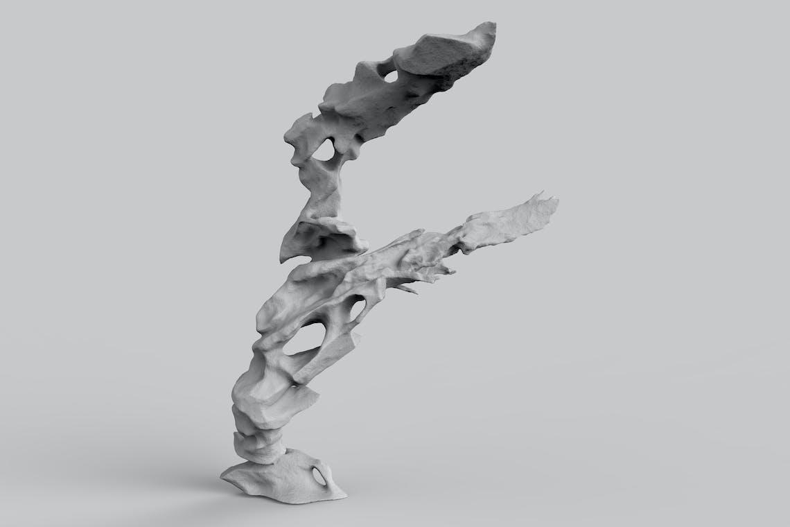 12 fulgurite Tesla Coil scalpture Ahmed mater 125