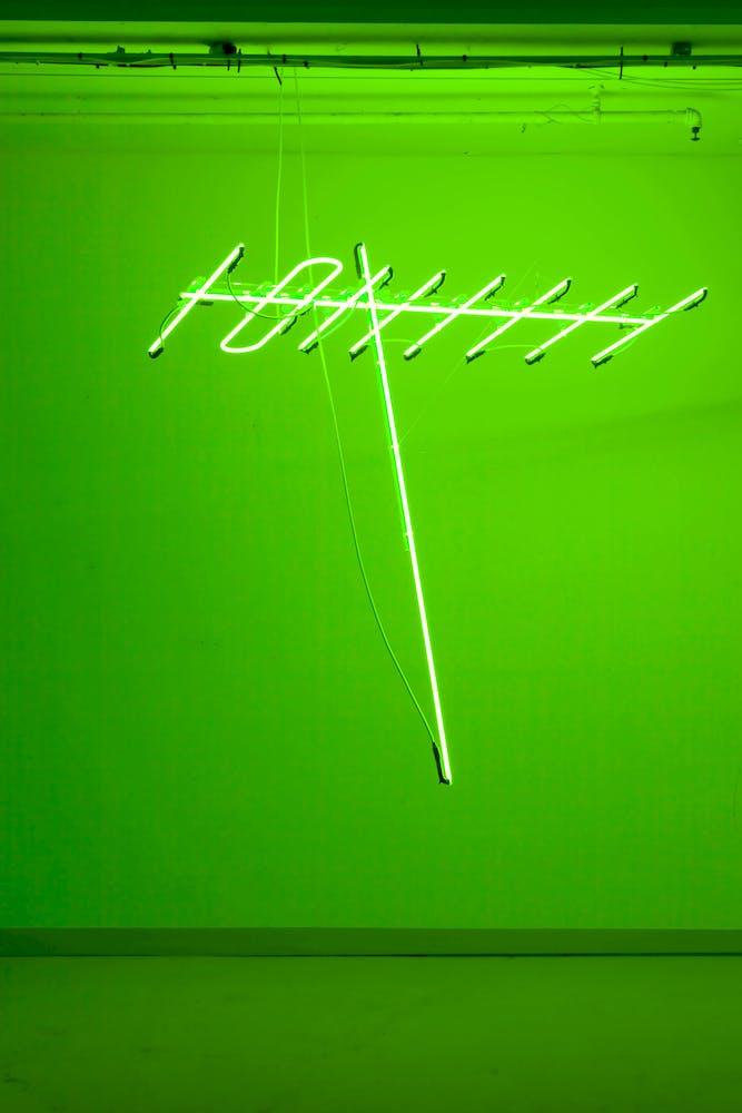 Antenna Green 2010 Ahmed Mater Neon Tube 150 x 150 x 50 cm 5585828246 cb1b52cb7b o