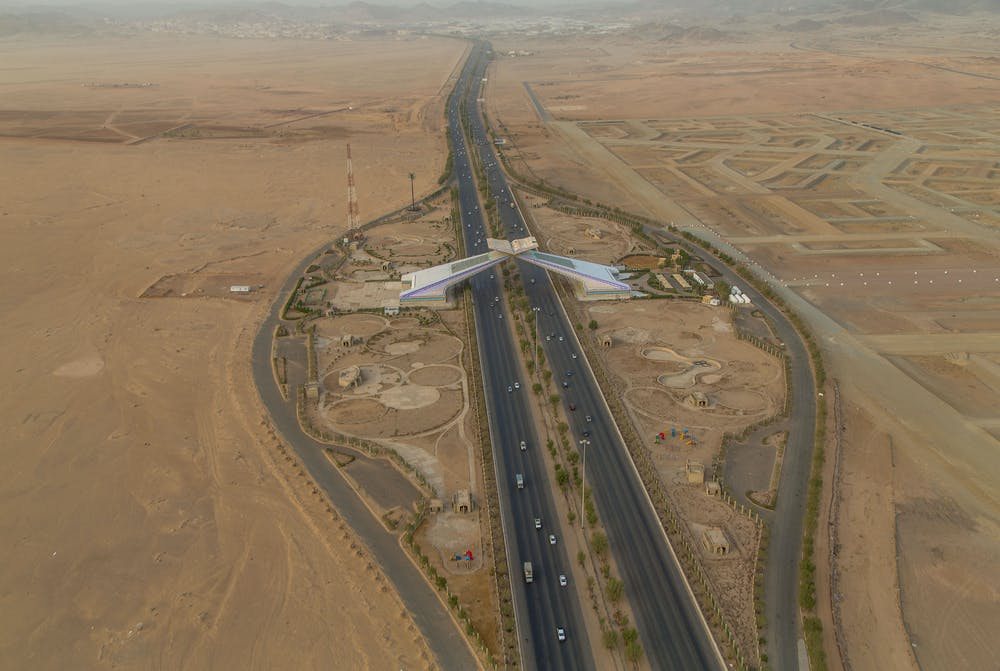 On the Haramain Highway YEAR Desert of Pharan 2008 2015 Ahmed Mater Pg 023 01