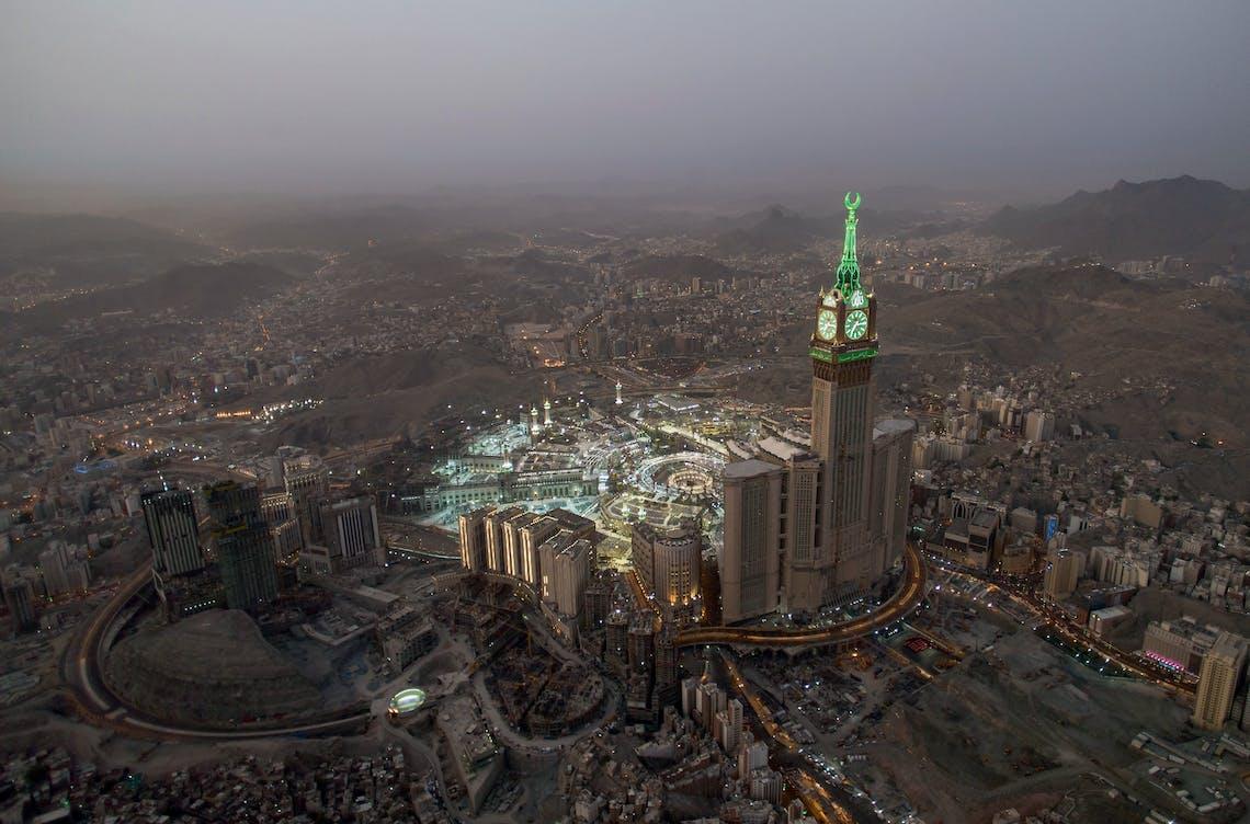 Clock Tower Mecca Time 2015 Desert of Pharan 2008 2015 Ahmed Mater Pg 054 01